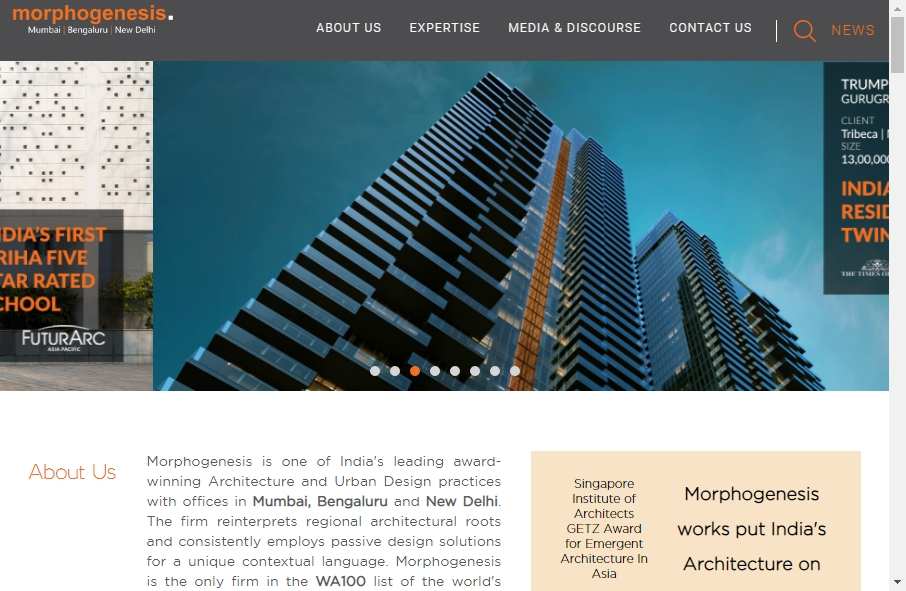 14 Examples of Architectural Websites With Fantastic Designs 26