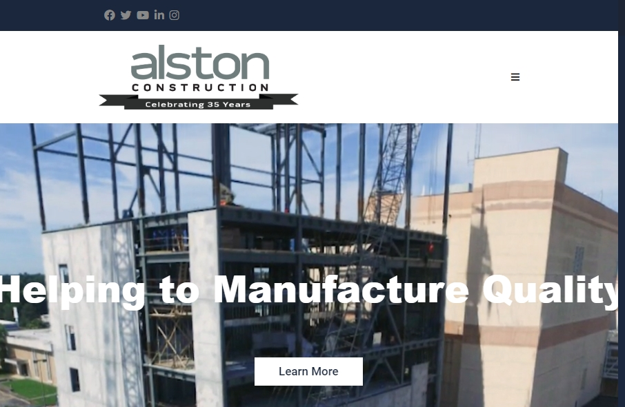 27 Examples of Construction Websites With Fantastic Designs 27