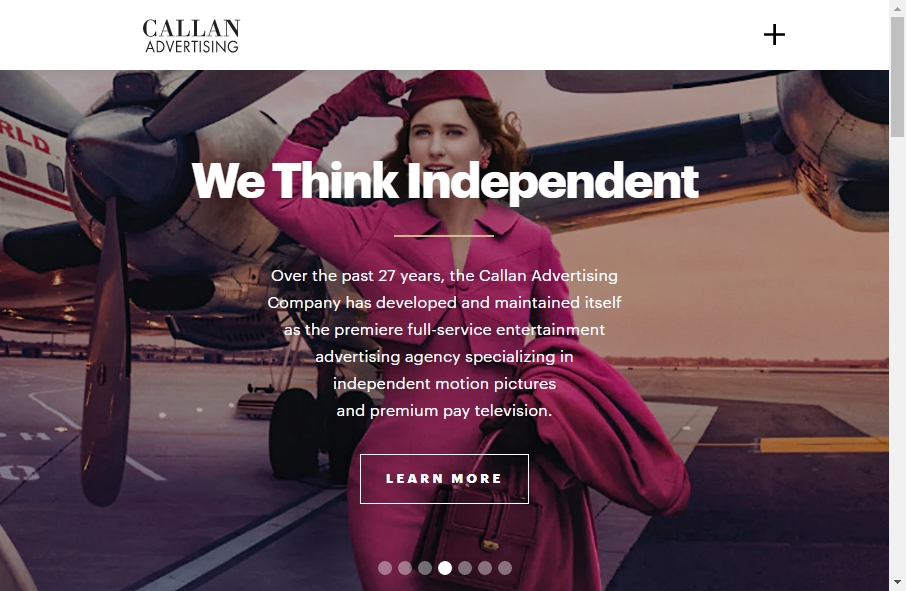 Advertising Websites Examples 26
