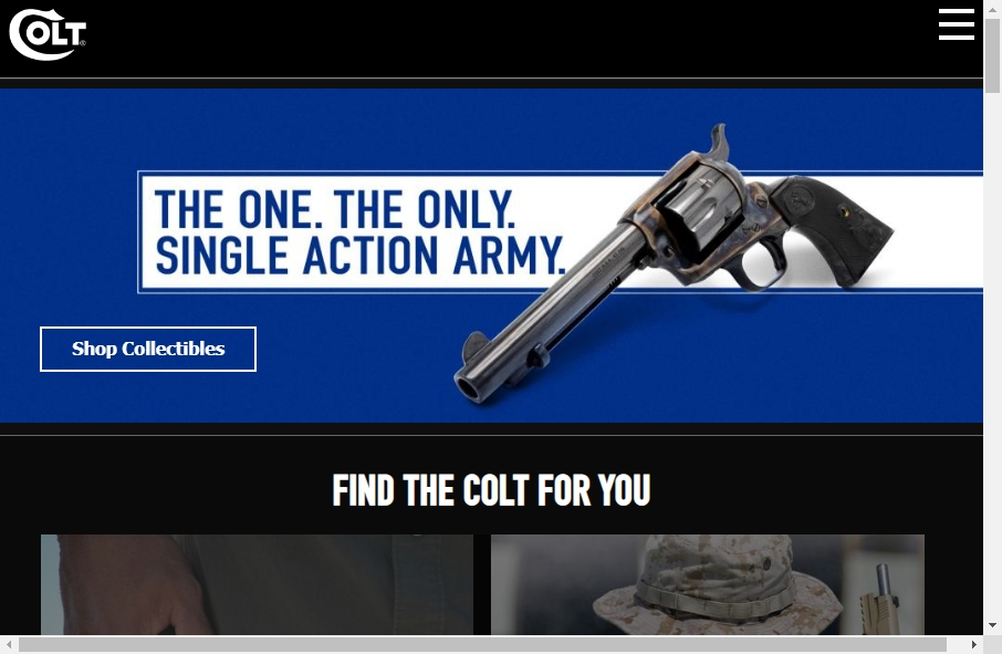 15 beautifully designed Gun website examples in 2021 27