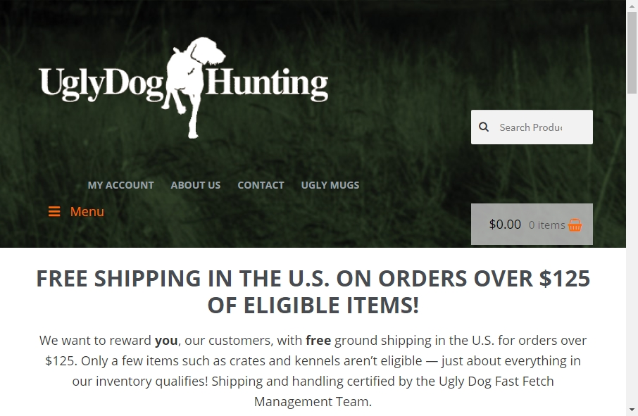 9 Examples of Inspirational Hunting Websites 24