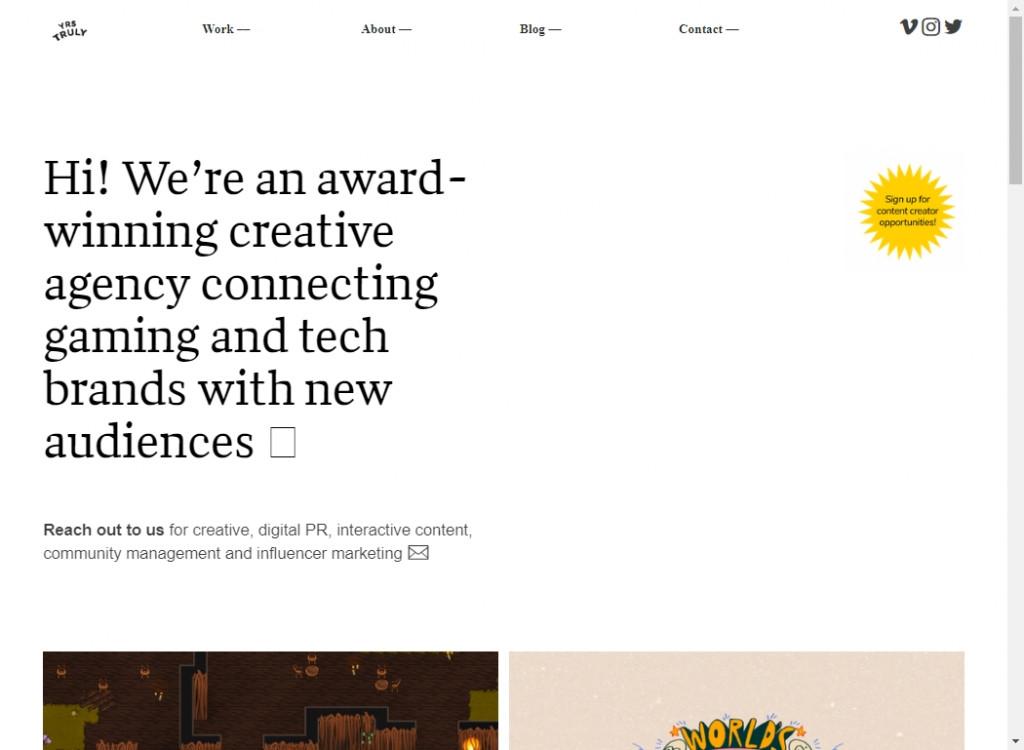 Classy Web Design Inspirations 27