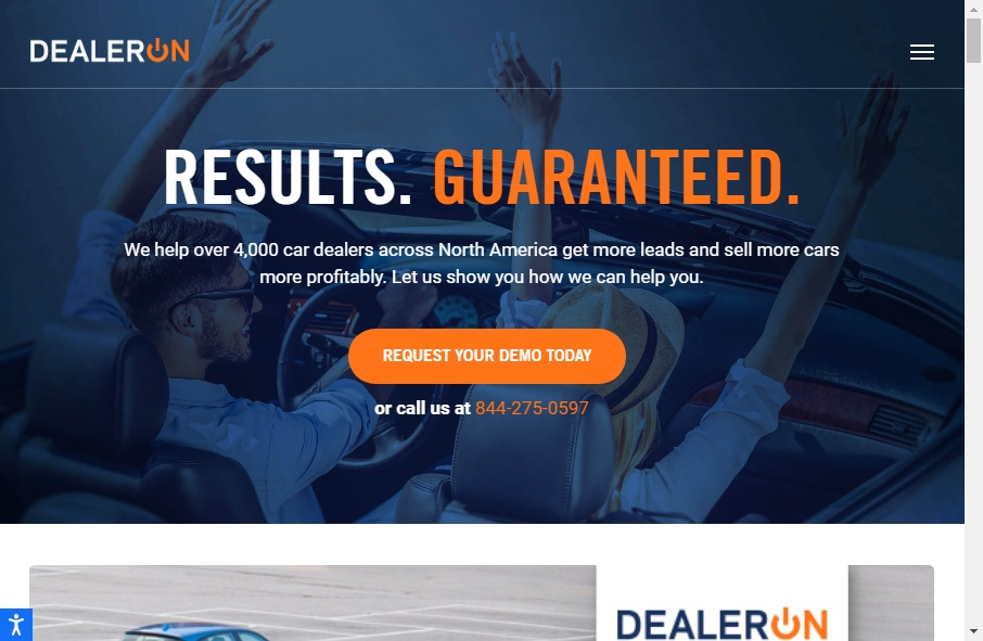 12 Examples of Auto Dealer Websites With Fantastic Designs 24