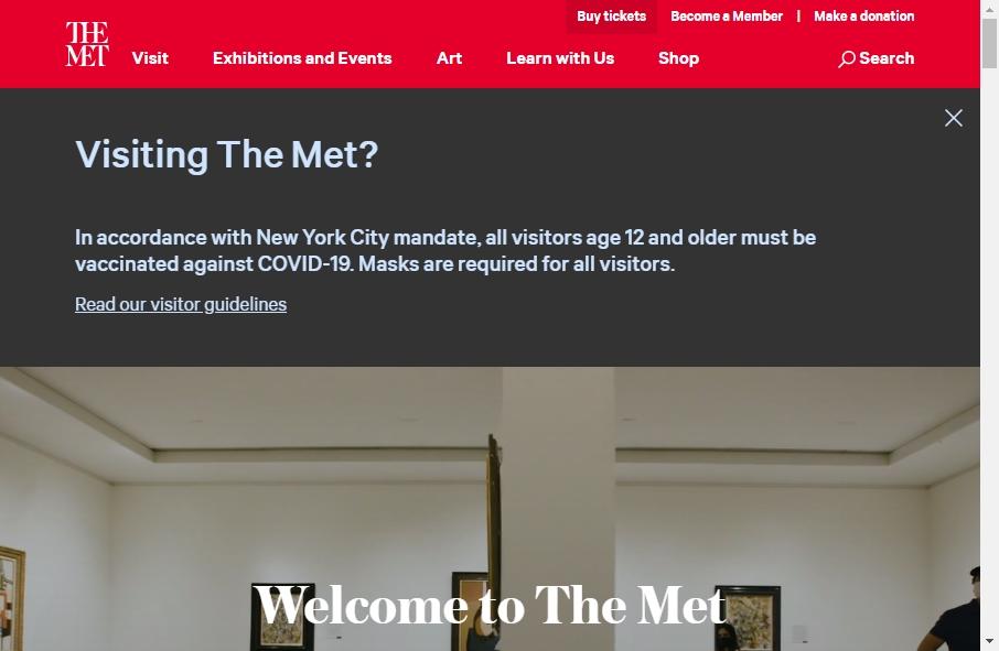 14 Amazing Museum Website Design Examples in 2021 27