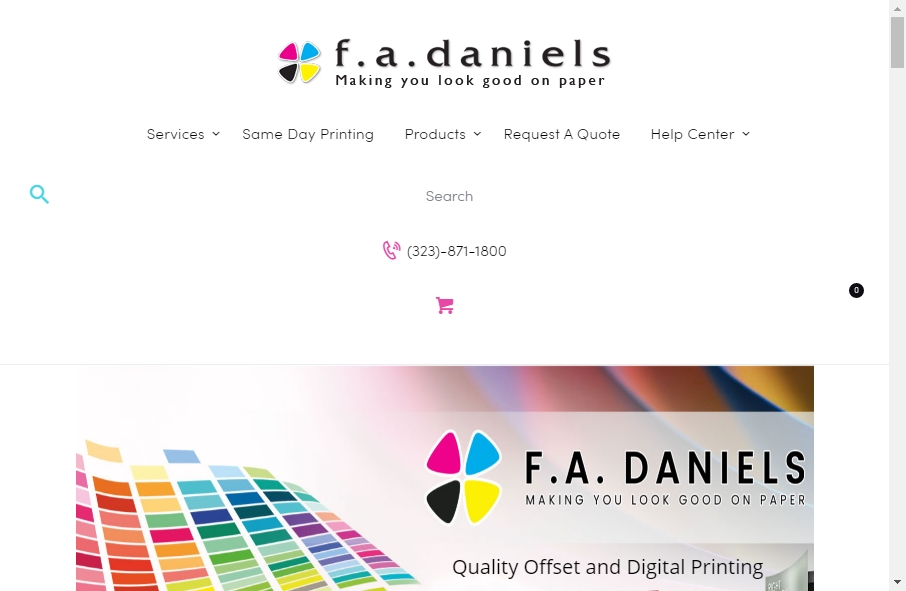 14 Best Printing Website Design Examples for 2021 28