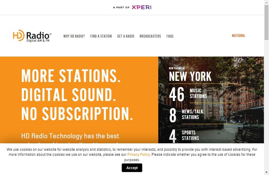 9 Examples of Inspirational Radio Websites 25