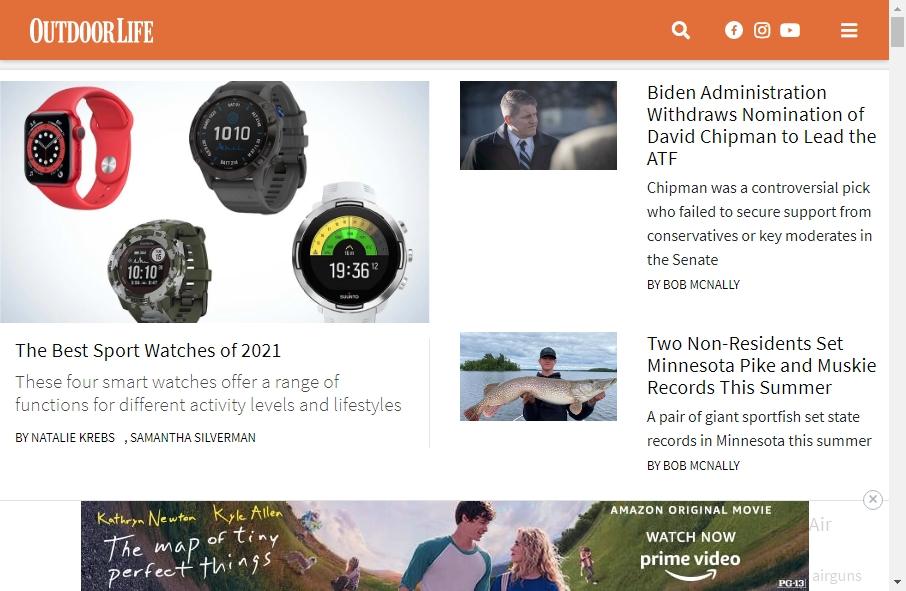 Hunter Websites Examples 27