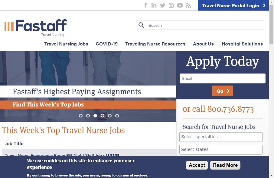 10 Amazing Nurses Website Design Examples in 2021 26