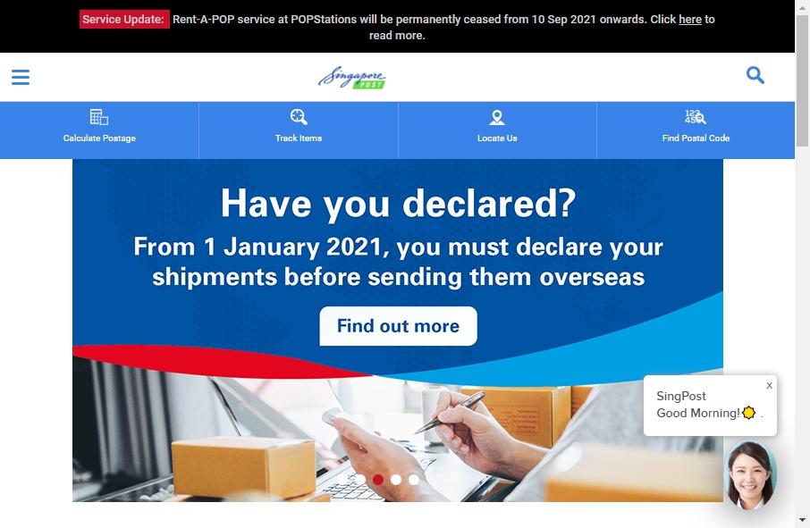 13 Great Postal Website Examples 28