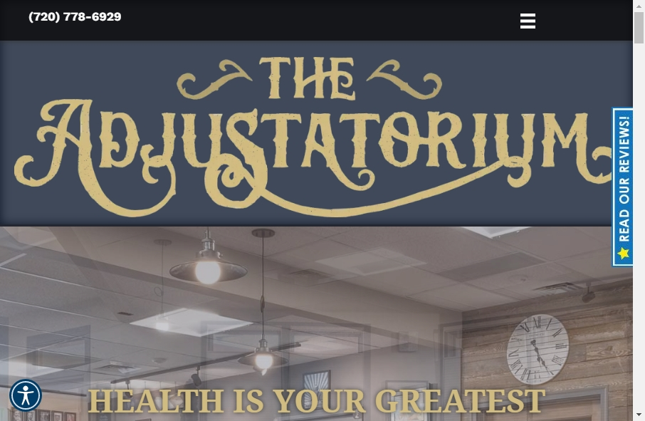 16 Great Chiropractors Website Examples 28