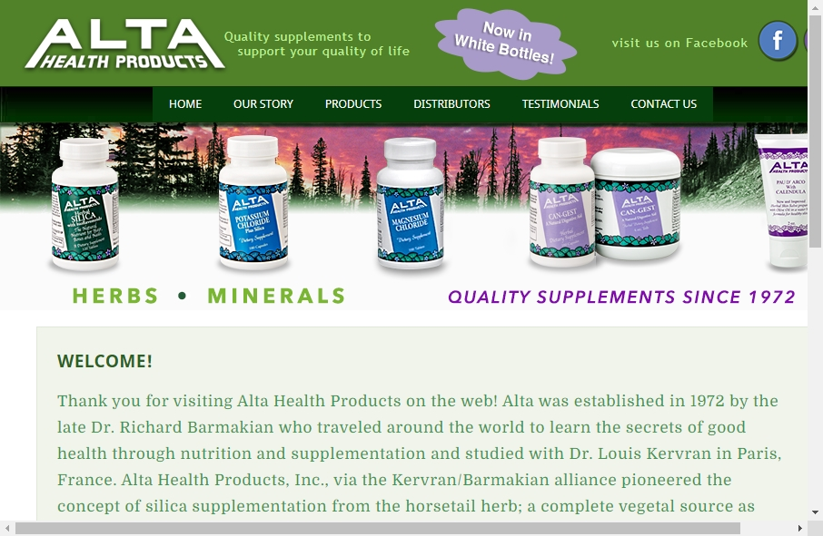 Health Product Websites Examples 27