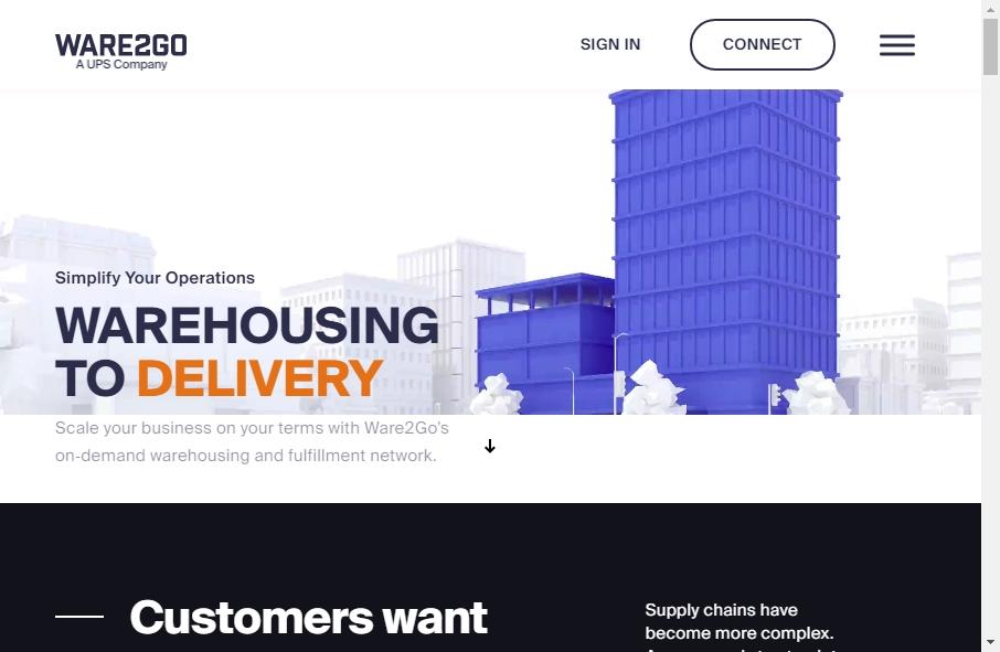 Warehousing Websites Examples 28