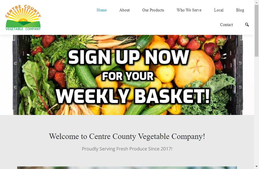 Examples of Vegetable Websites With Fantastic Designs 26
