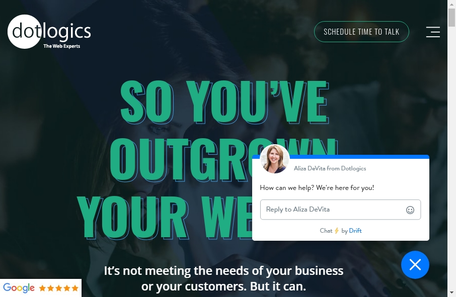 Examples of Inspirational Web service Websites 25