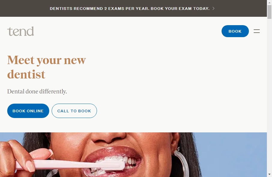 16 Dentist Website Examples to Inspire Your Site 26