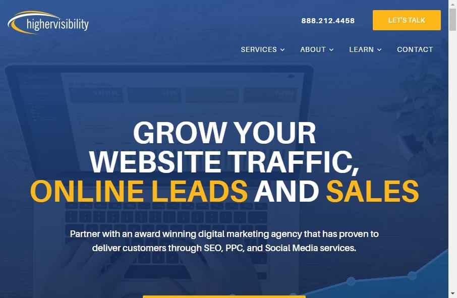 13 Amazing SEO Websites Design Examples in 2021 26