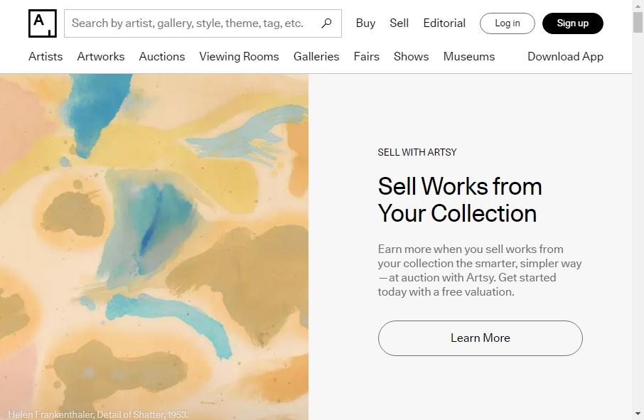 6 beautifully designed Art website examples in 2021 22