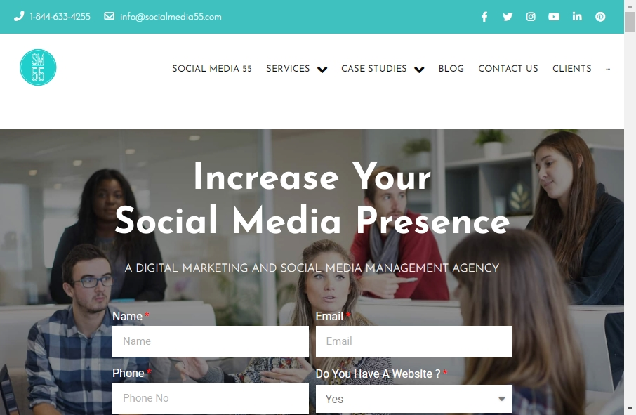 15 Examples of Social Media Websites With Fantastic Designs 28