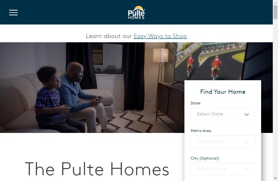 Home Builder Websites Examples 28