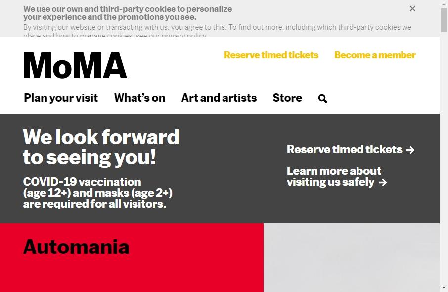 14 Amazing Museum Website Design Examples in 2021 28