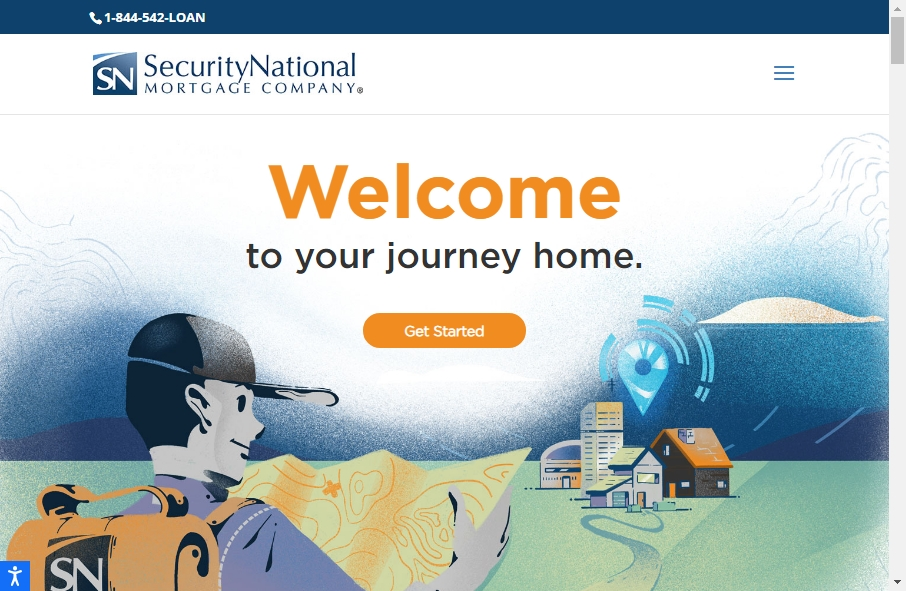 11 Examples of Inspirational Mortgage Websites 24