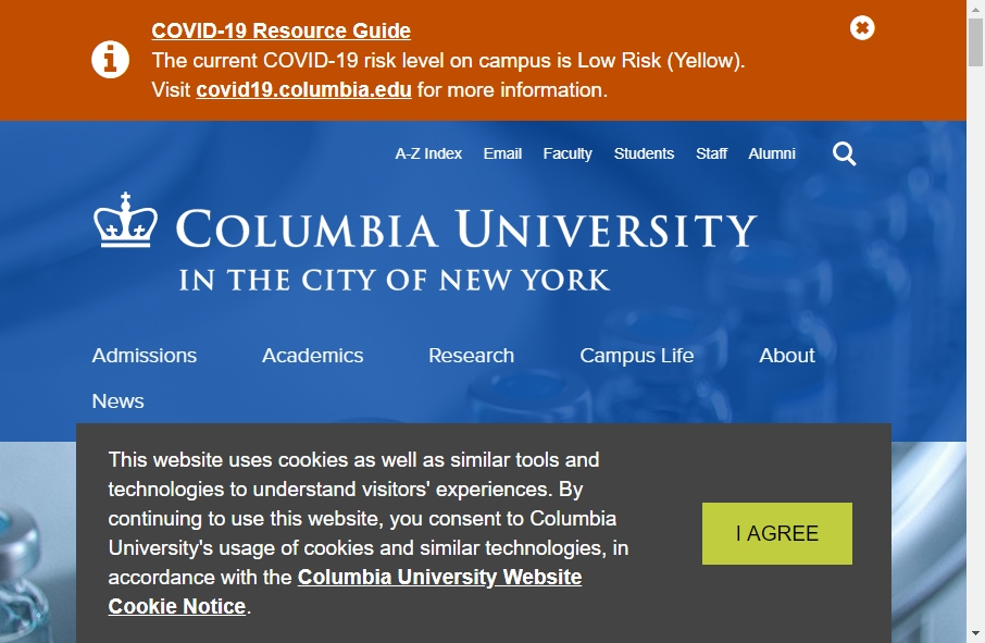 23 Examples of University Websites With Fantastic Designs 29