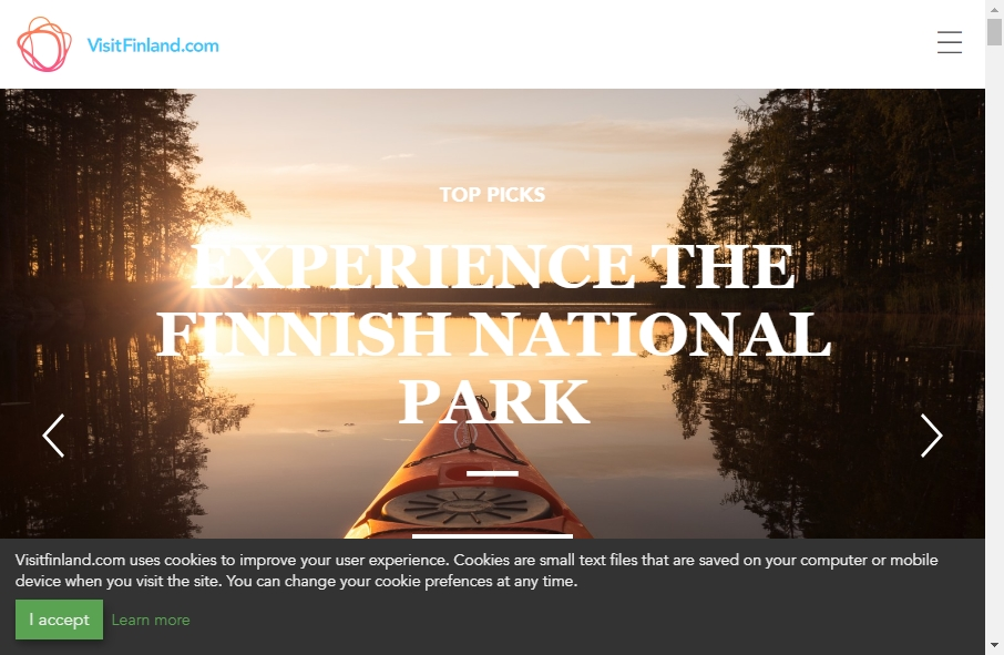 17 Examples of Tourism Websites With Fantastic Designs 29