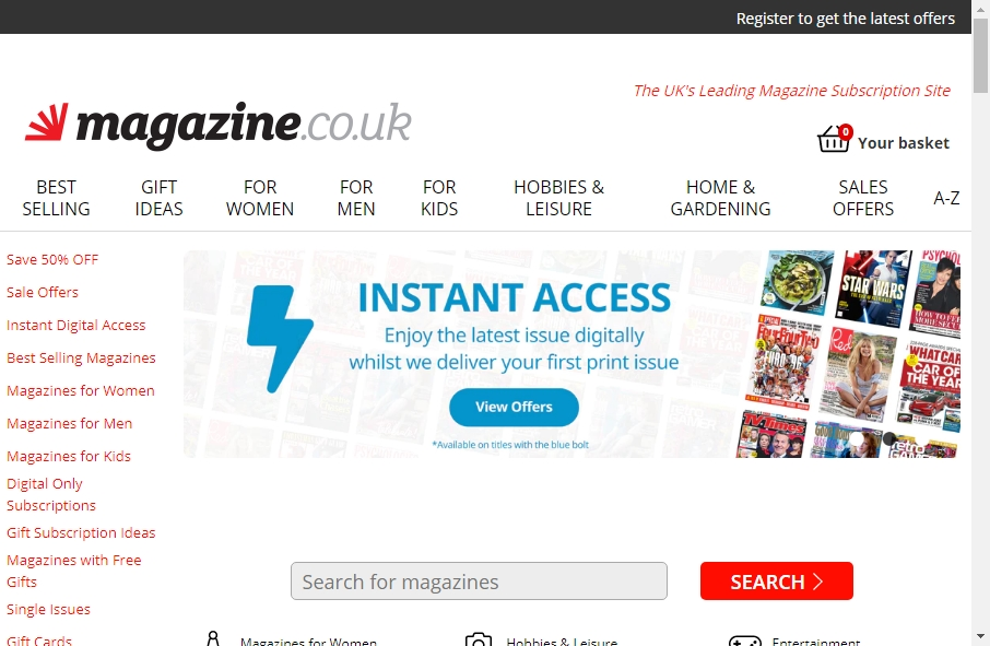 Magazine Website Design 27