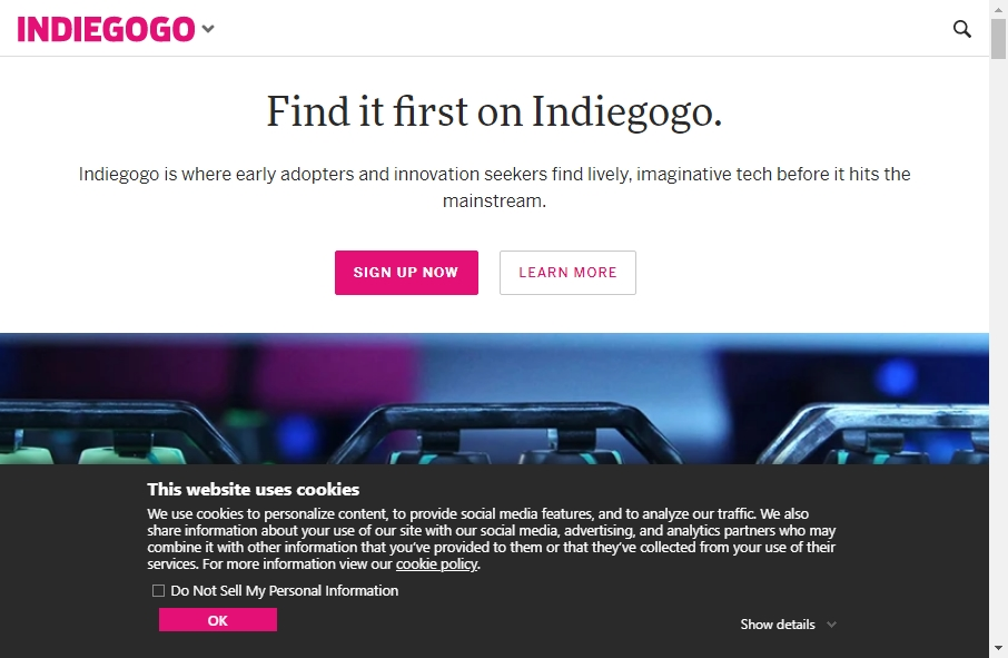 Crowdfunding Websites Examples 26