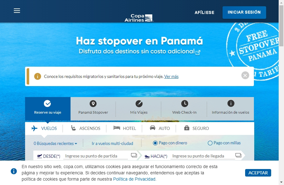 8 Examples of Inspirational Airlines Websites 24