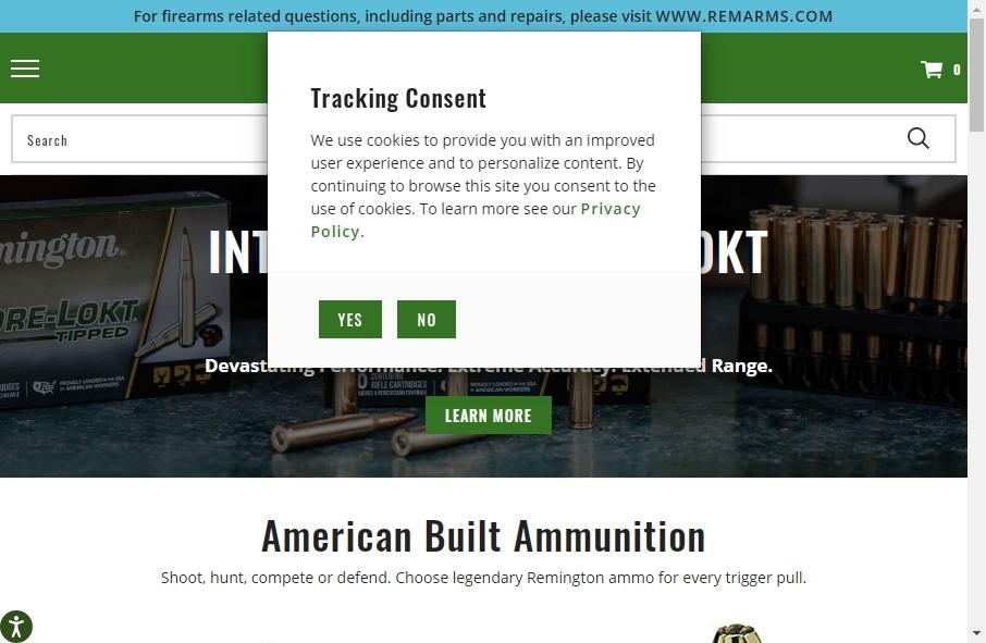 Hunter Websites Examples 28