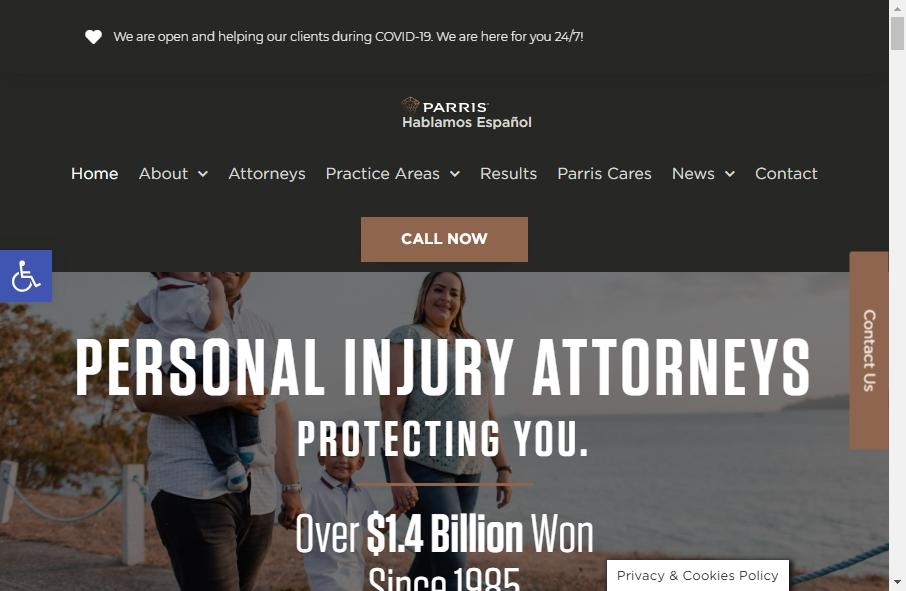 Advocate Websites Examples 27
