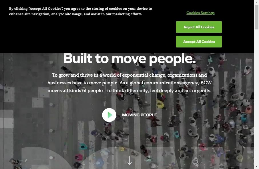 Public Relation Websites Examples 29