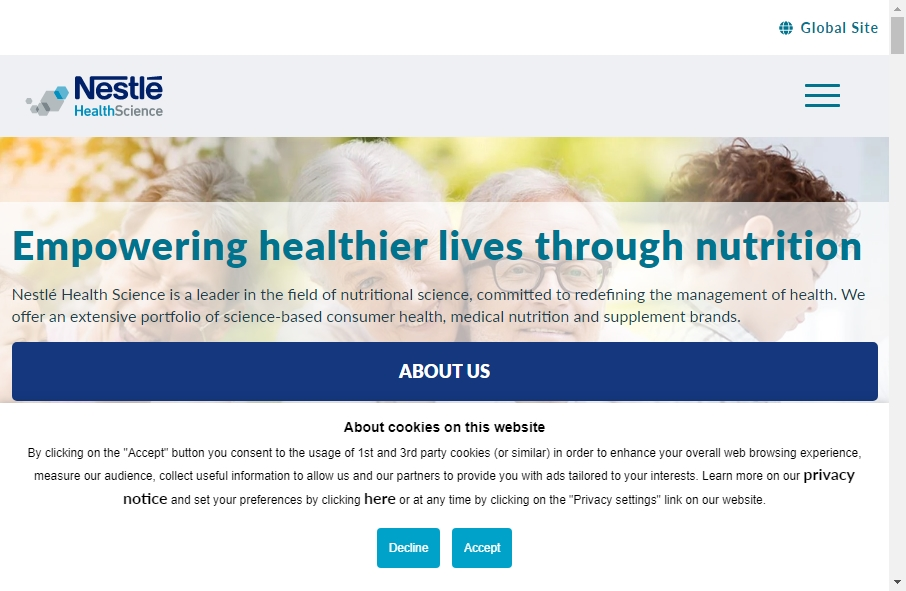 Health Product Websites Examples 28