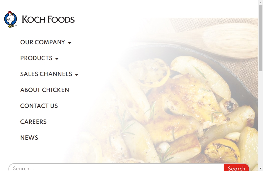 Examples of Poultry Websites With Fantastic Designs 27