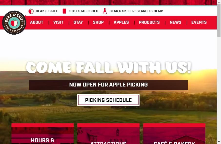 Agribusiness Website Designs 28