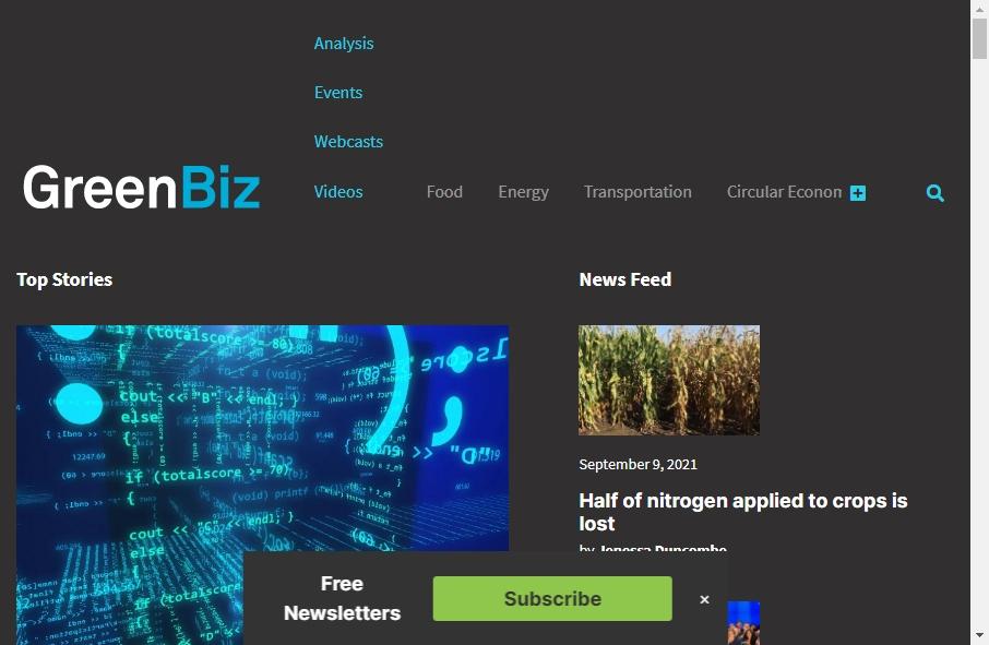 Alternative Energy Website Designs 26