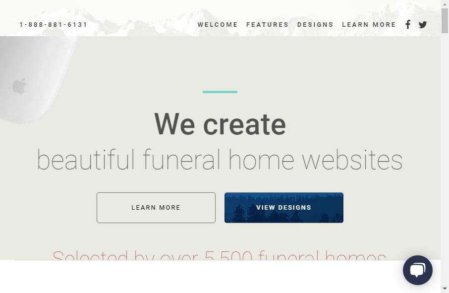 Funeral Services Website Designs 24