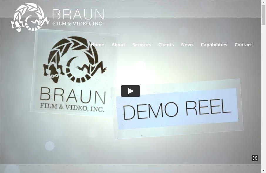 Great TV Production Website Examples 28