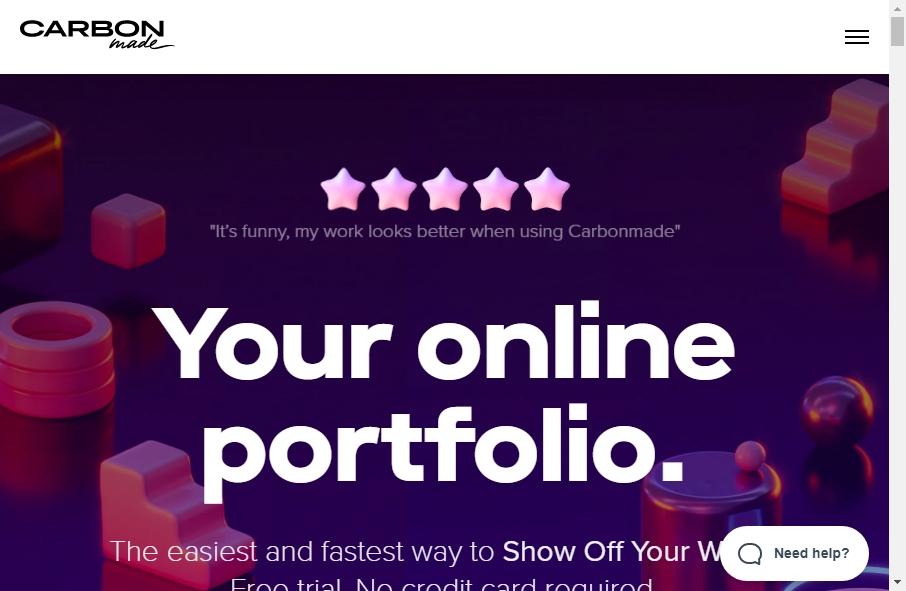 12 Amazing Portfolio Website Design Examples in 2021 28