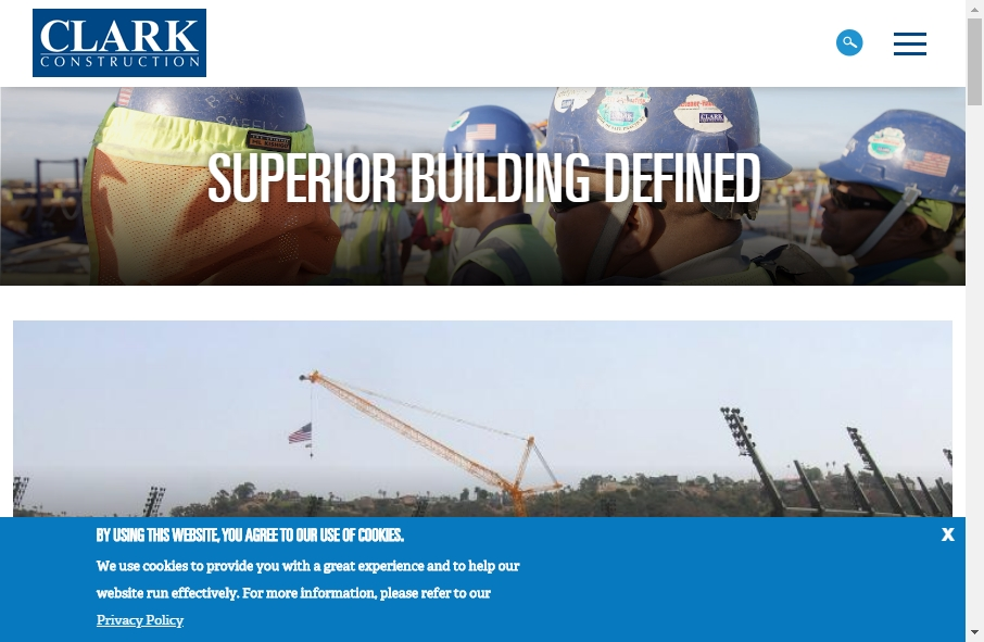 27 Examples of Construction Websites With Fantastic Designs 29