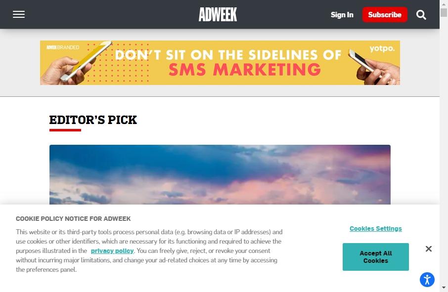 Advertising Websites Examples 28