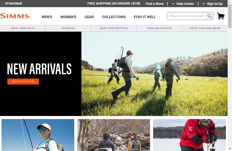 13 Best Fishing Websites Design Examples for 2021 27