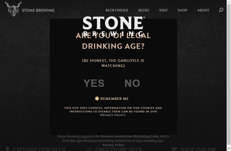 15 Beer Websites Examples to Inspire Your Site 26