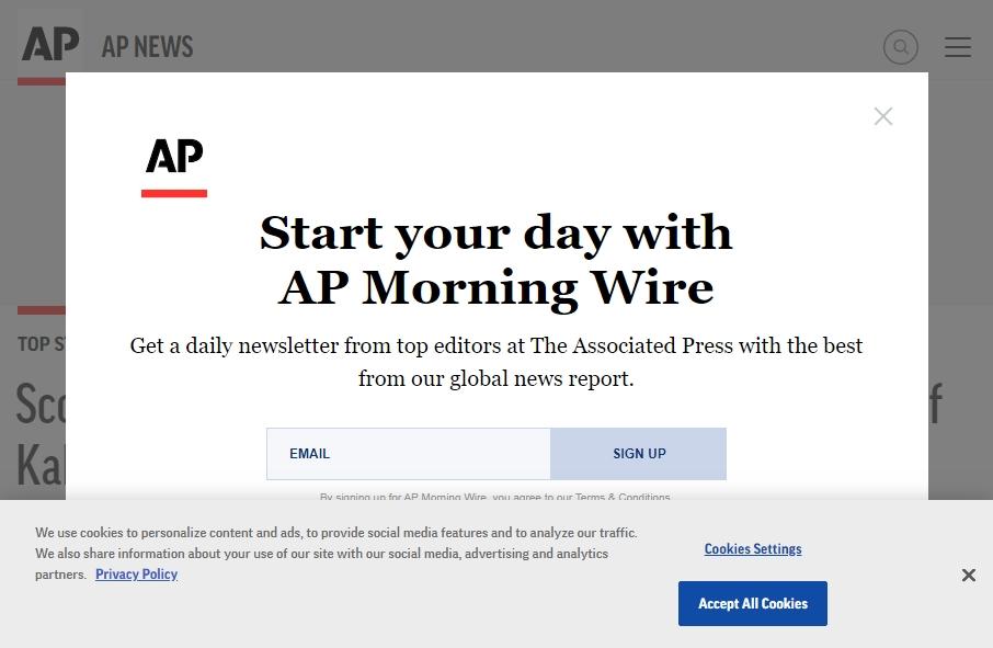 News Website Design 29