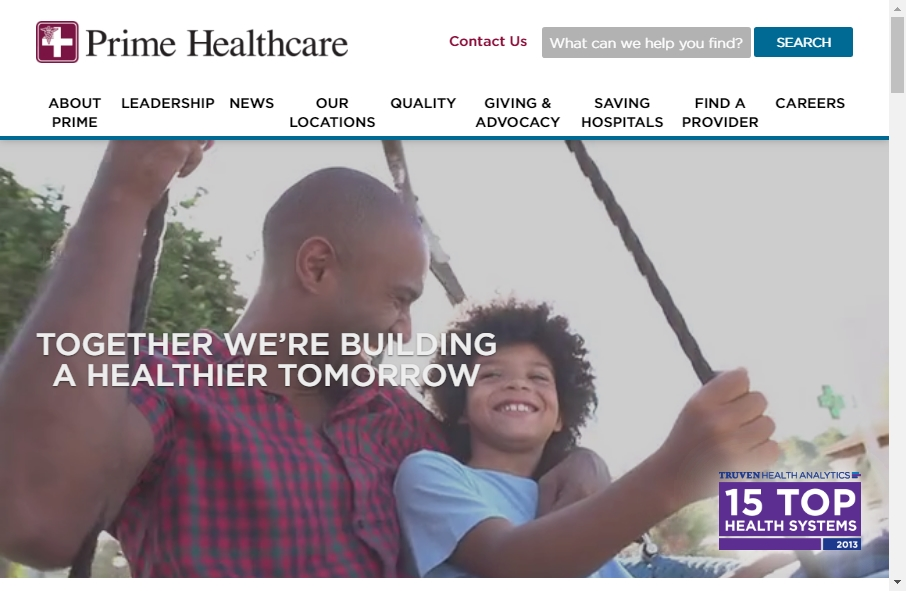 11 Examples of Hospital Websites With Fantastic Designs 23