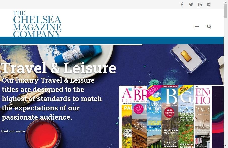 Magazine Website Design 28