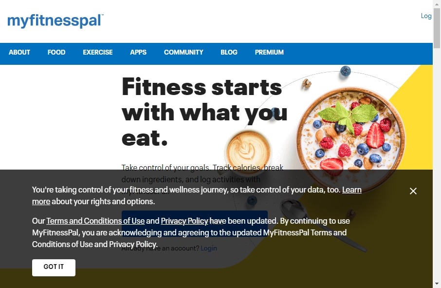 11 Great Nutritional Website Examples 26