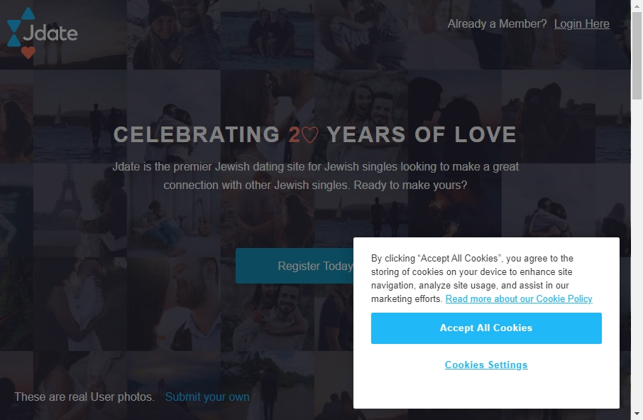 14 Examples of Inspirational Online Dating Websites 28