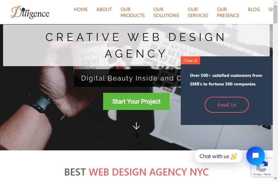 14 Great Administration Website Examples 28